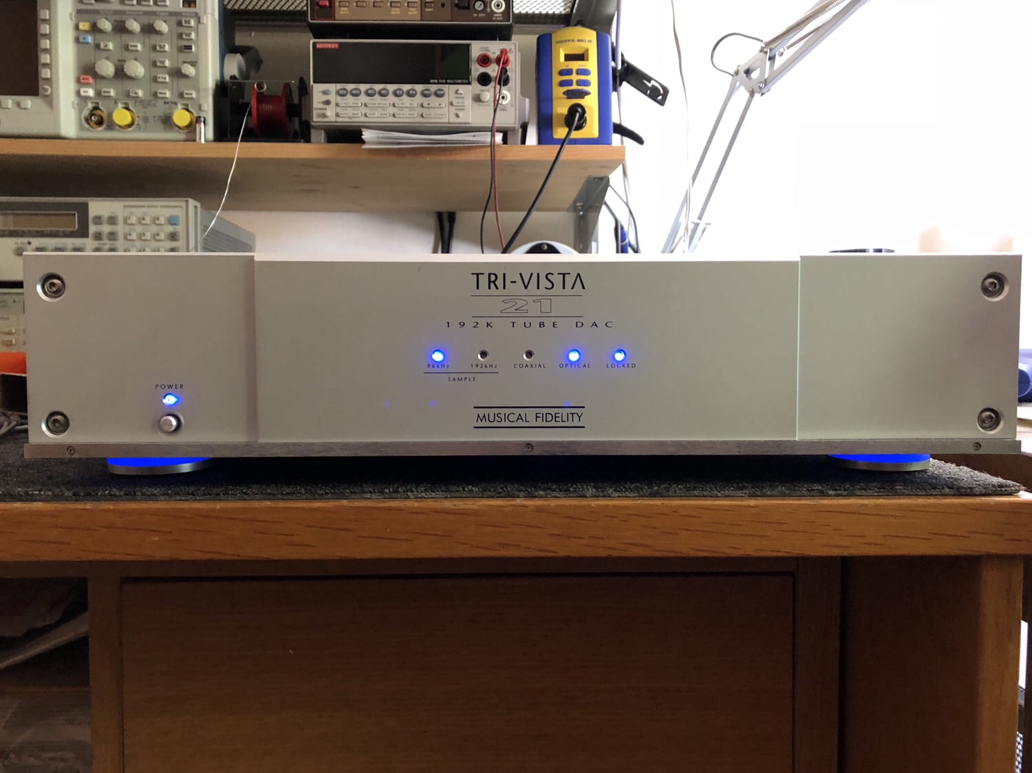 Read more about the article Musical Fidelity Tri-Vista 21 Tube DAC Repair, Upgrades & Testing Video