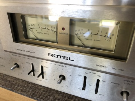 img_1761 Stunning Rotel RA-1412 Amplifier Cleaned, Serviced & for Sale!