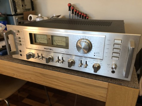 img_1778 Stunning Rotel RA-1412 Amplifier Cleaned, Serviced & for Sale!