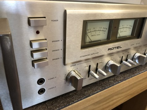 img_1781 Stunning Rotel RA-1412 Amplifier Cleaned, Serviced & for Sale!