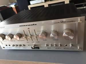 Marantz 1152DC Integrated Amplifier Repair & Restoration