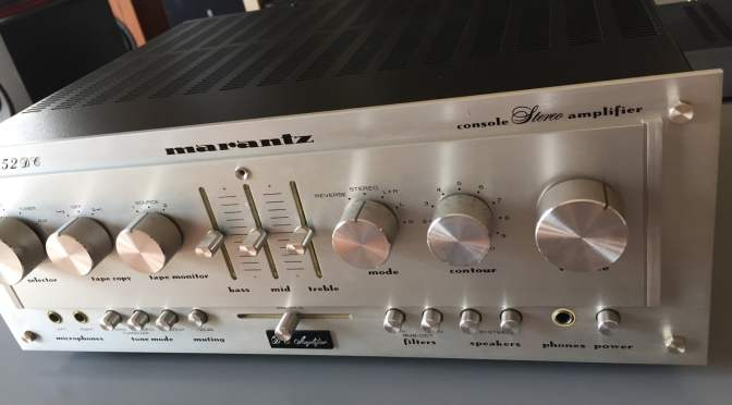 Marantz 1152DC Integrated Amplifier Repair & Restoration