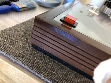Linn Sondek LP12 oiling wood
