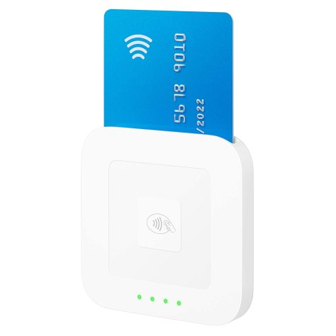 cashless payments with Square