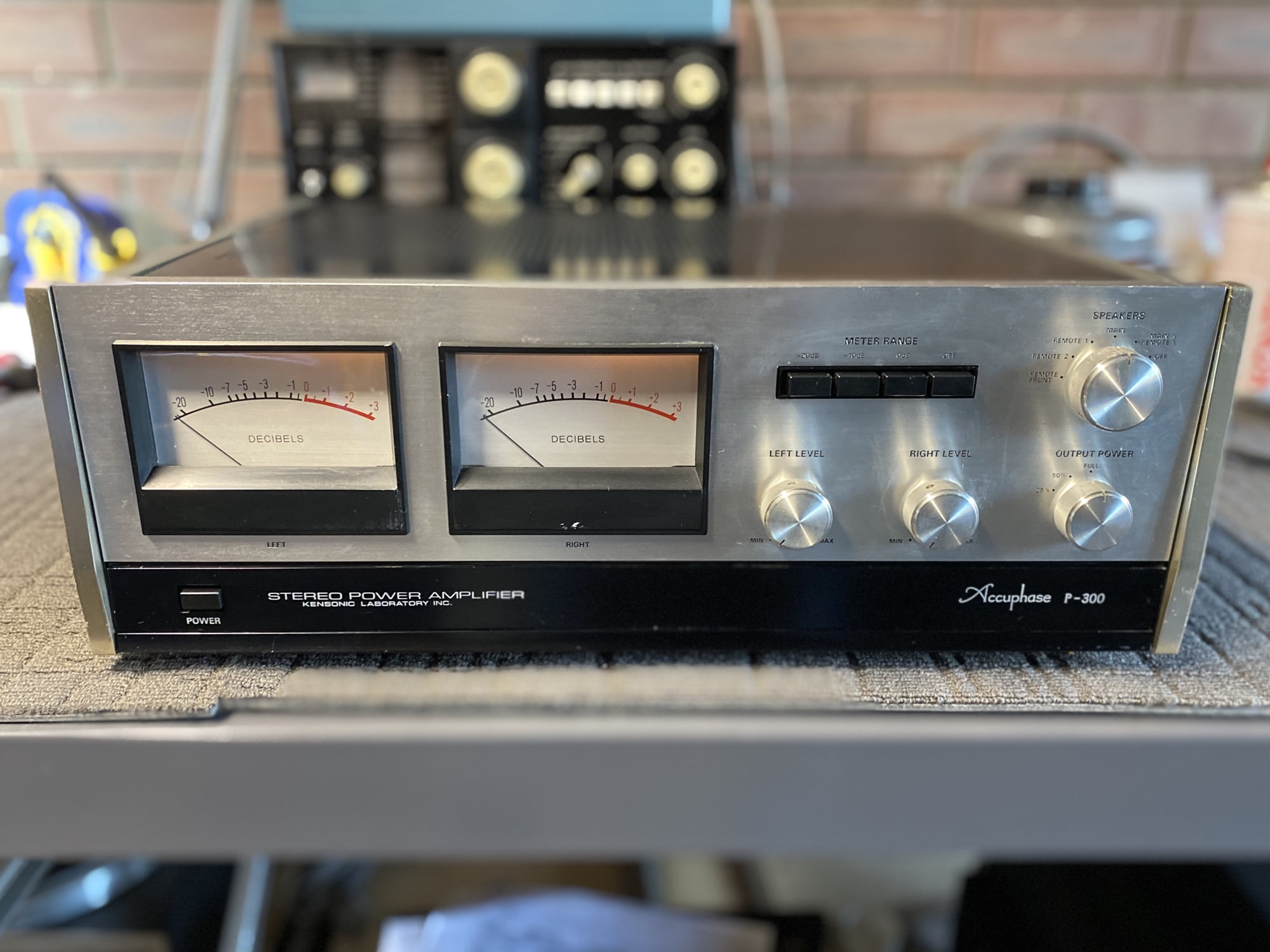 Stunning Accuphase P-300 Power Amplifier Repair