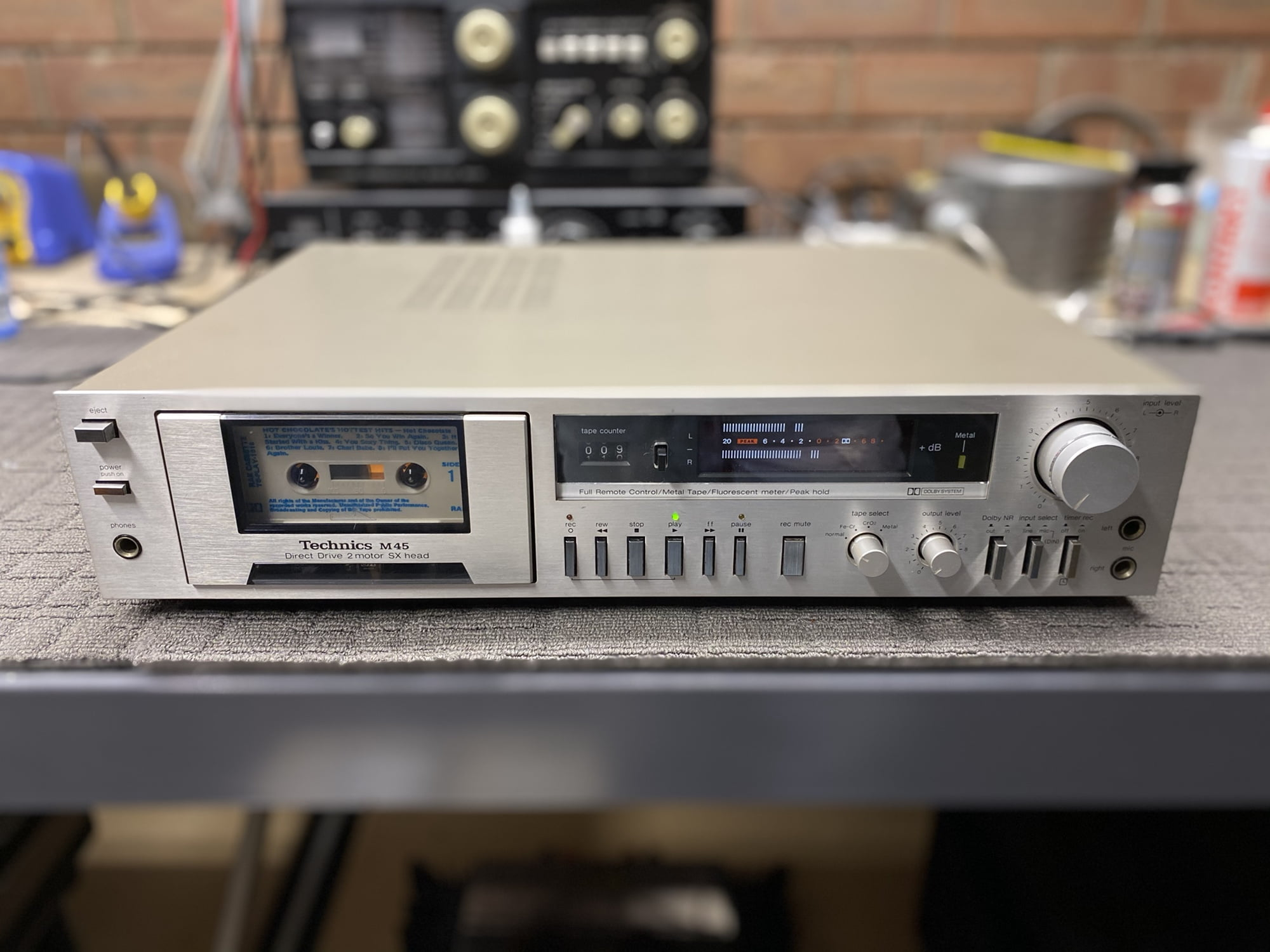 Technics RS-M45 Cassette Deck Repair, Service & Sale