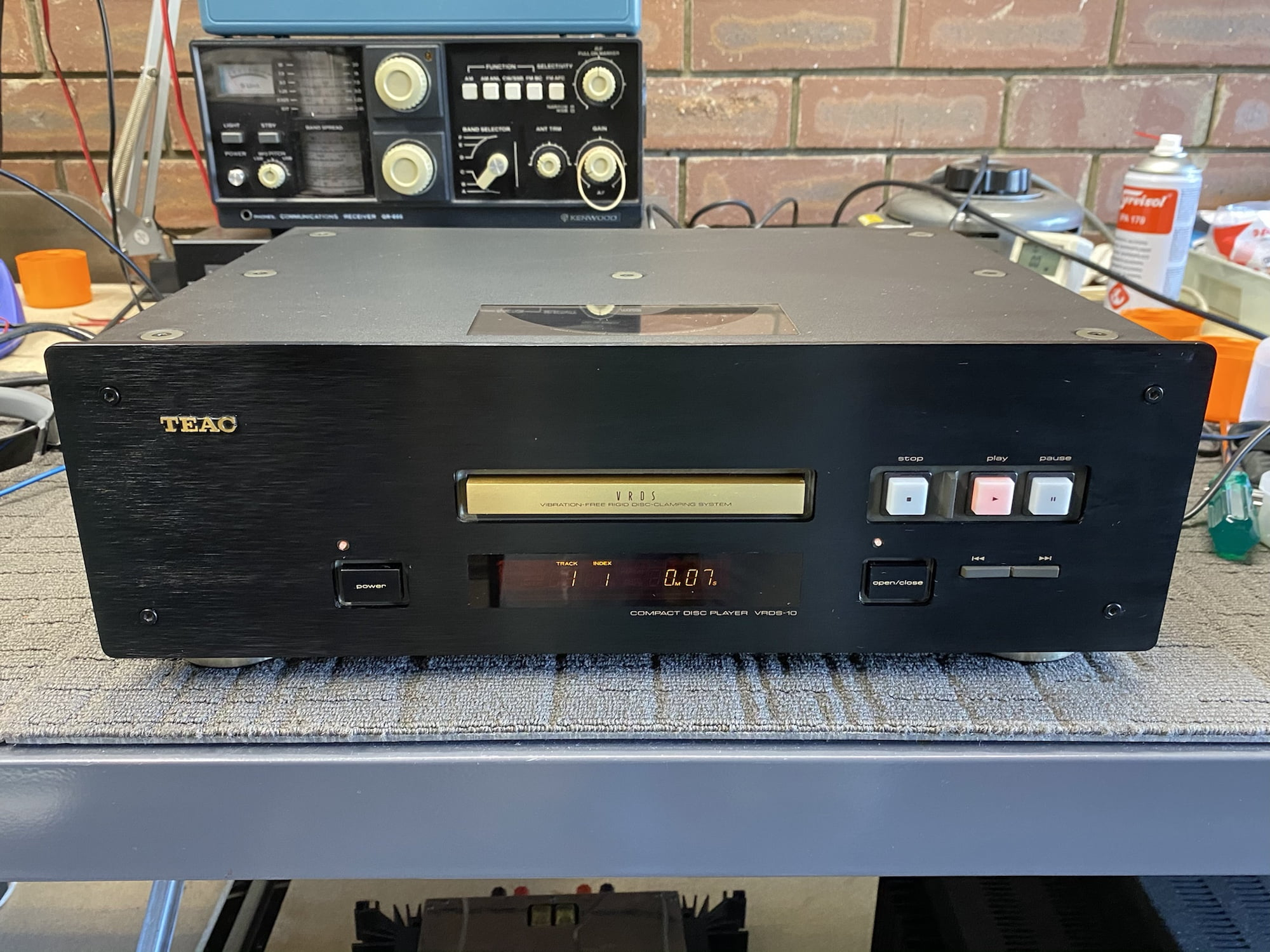 TEAC VRDS-10 CD Player Repair & Service