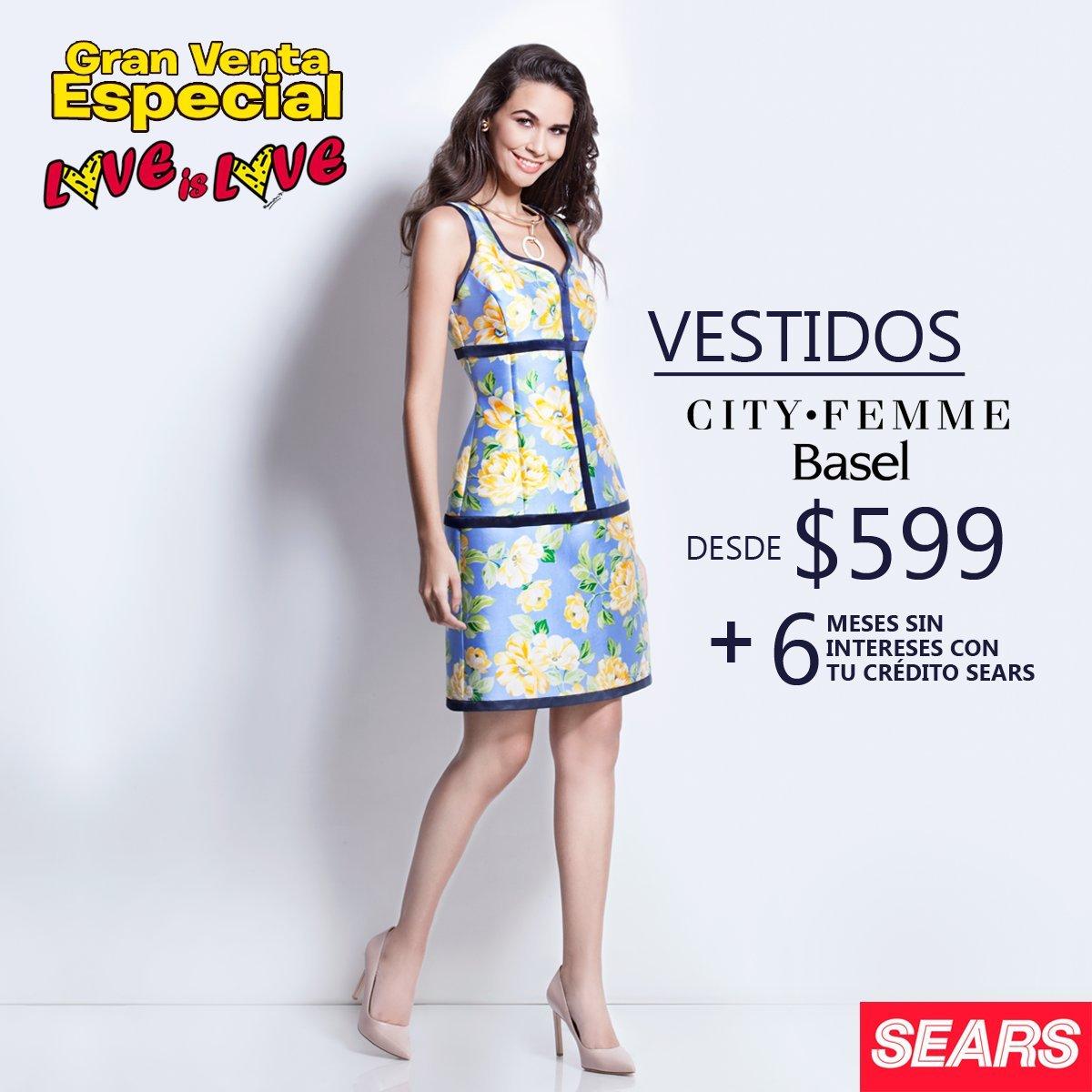 172334a3f6 Sears - Gran Venta Especial Love is Love   Vestidos City·Femme desde  599 +  6 MSI con tu crédito Sears... - LiquidaZona