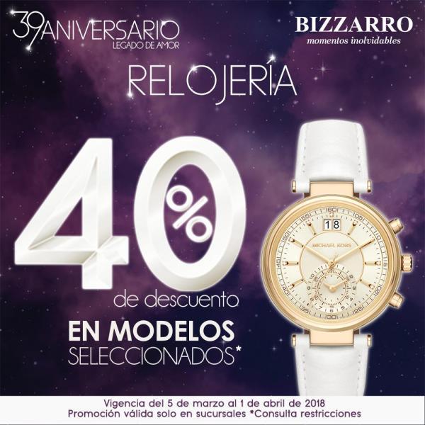 107ae9d3f319 Bizzarro - Relojes   40% de descuento en modelos seleccionados... -  LiquidaZona