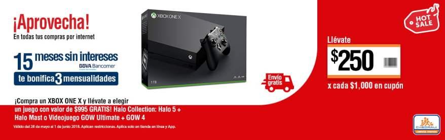 Chedraui Hot Sale 2018 Compra Un Xbox One X Y Llevate Un Juego