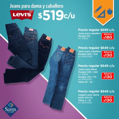 Sam S Club Precios Especiales En Jeans Levi S Para Dama Y Caballero Ahorra Hasta 180 Liquidazona