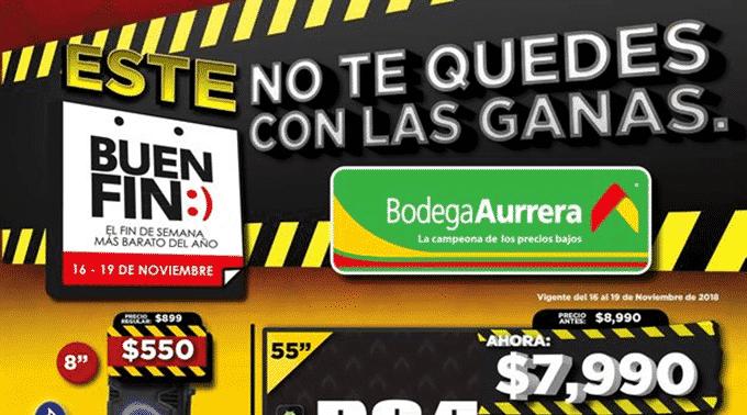 Bodega Aurrerá - Folleto del 16 al 19 de noviembre de 2018 / El Buen Fin...