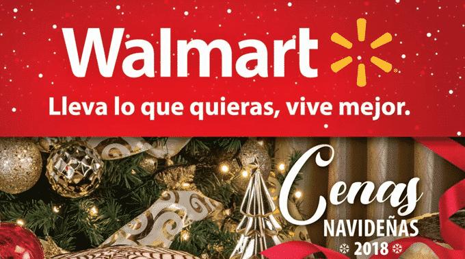 Walmart - Folleto Especial del 26 de noviembre al 31 de diciembre de 2018 / Cenas Navideñas...