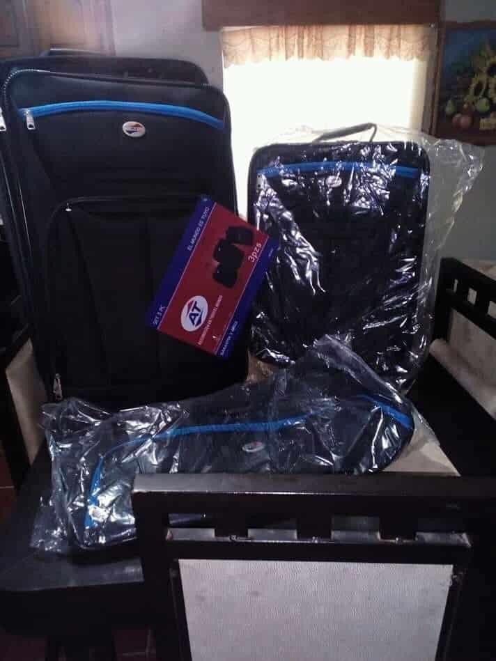 $283.01 - Bodega Aurrerá - Set de 3 maletas de viaje marca American Tourister con el 75% de descuento...