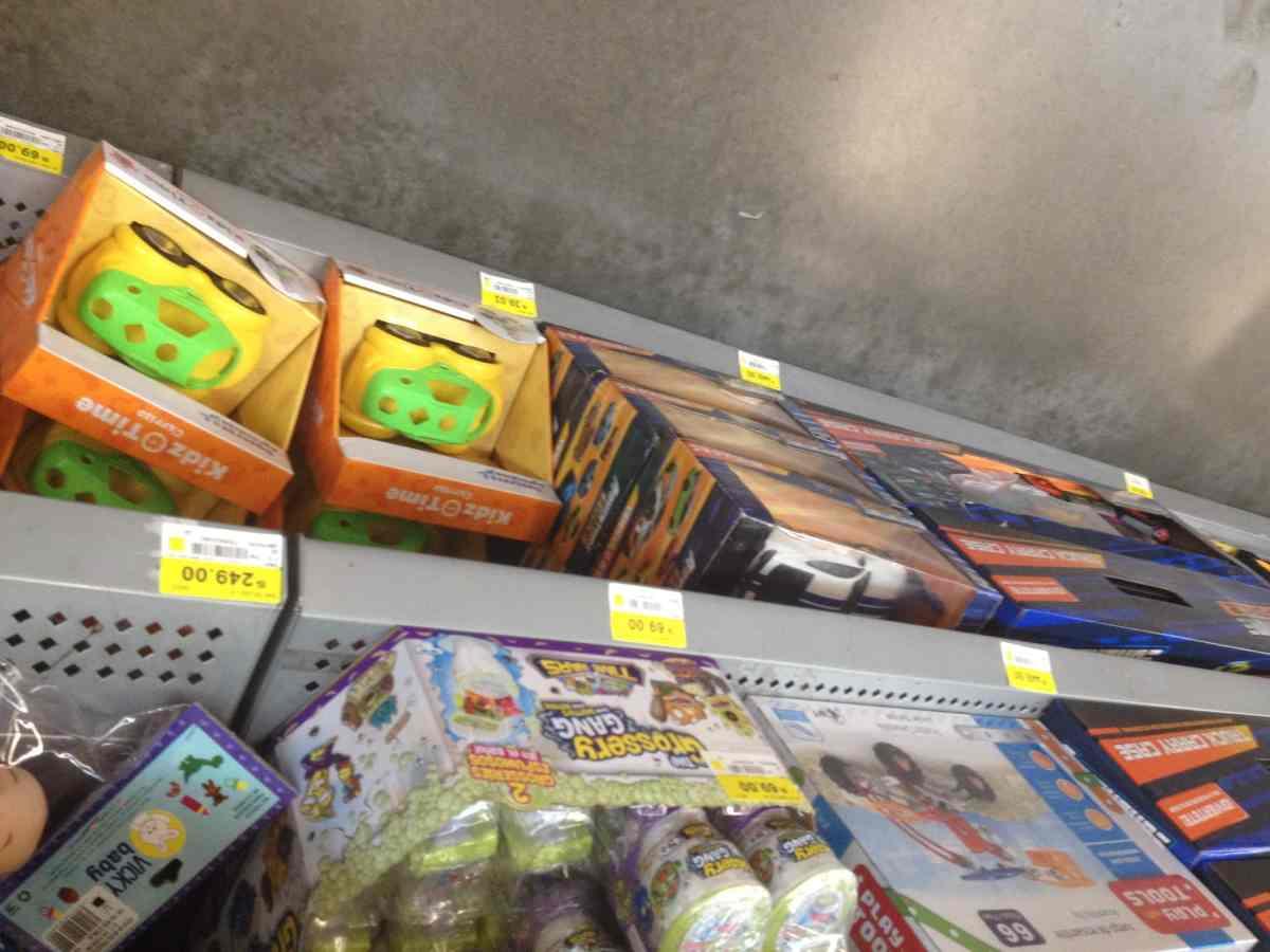 $2.01 - Bodega Aurrerá - Variedad de juguetes y juegos de mesa Imaginext, Fisher Price, MEGA Bloks, Pokémon, Kidz Time y más con hasta el 90% de descuento...