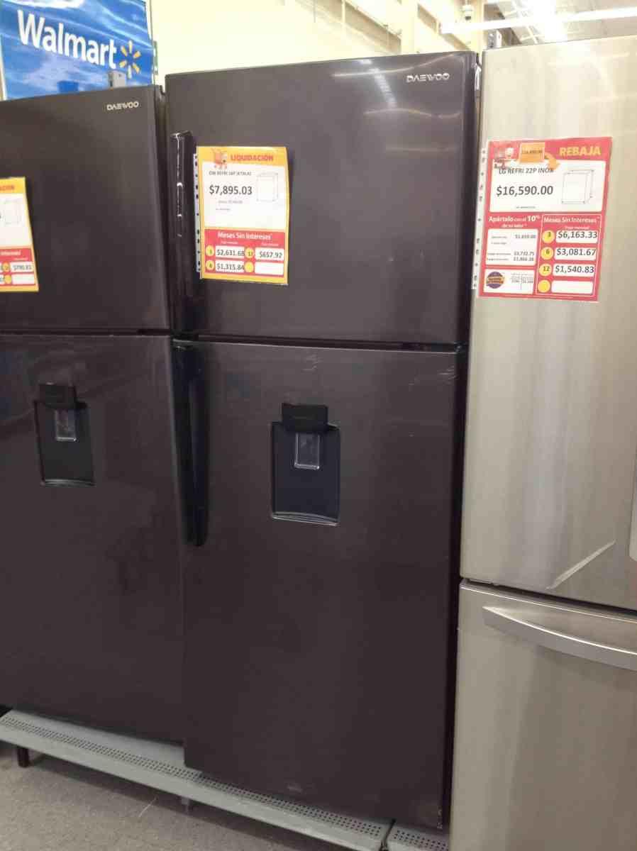 $346.02 - Walmart - Refrigerador marca Daewoo de 16ft con el 95% de descuento...