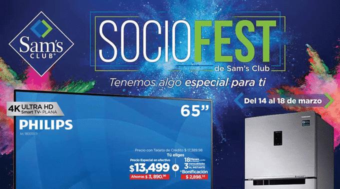 Sam's Club - Folleto Especial del 14 al 18 de marzo de 2019 / SOCIOFEST...