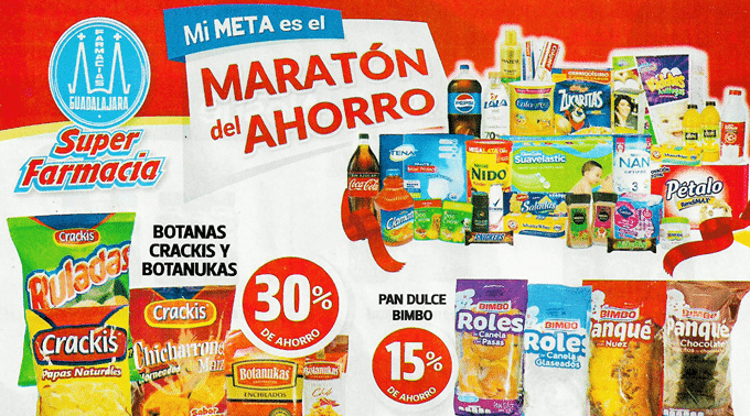 Farmacias Guadalajara - Folleto del 16 al 31 de marzo de 2019 / Maratón del Ahorro...