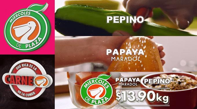 La Comer - Miércoles de Plaza 20 de marzo de 2019 / Pepino y Papaya Maradol a $13.90kg y más...