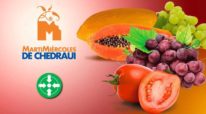 Chedraui - MartiMiércoles de FrutiVerduras 23 y 24 de abril de 2019...