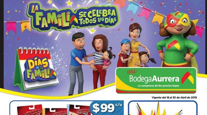 Bodega Aurrerá - Folleto del 18 al 30 de abril de 2019 / Días de la Familia...