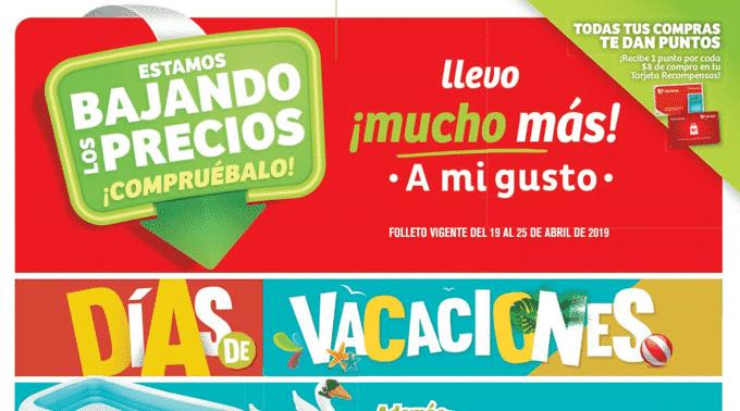 MEGA Soriana - Folleto del 19 al 25 de abril de 2019 / Estamos Bajando los Precios...