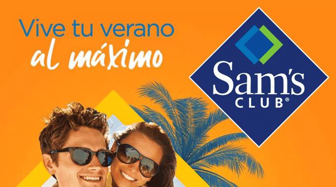 Sam's Club - Folleto y Cuponera del 18 de mayo al 7 de junio de 2019 / Vive tu Verano al Máximo...