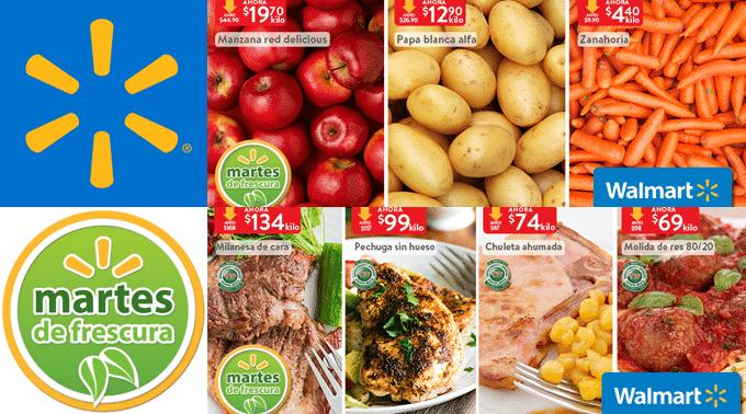 Walmart - Martes de Frescura 21 de mayo de 2019 / Zanahoria a $4.40kg, Papa Blanca a $12.90kg y más...