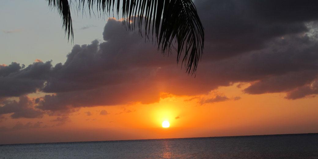 Beautiful Cozumel sunset