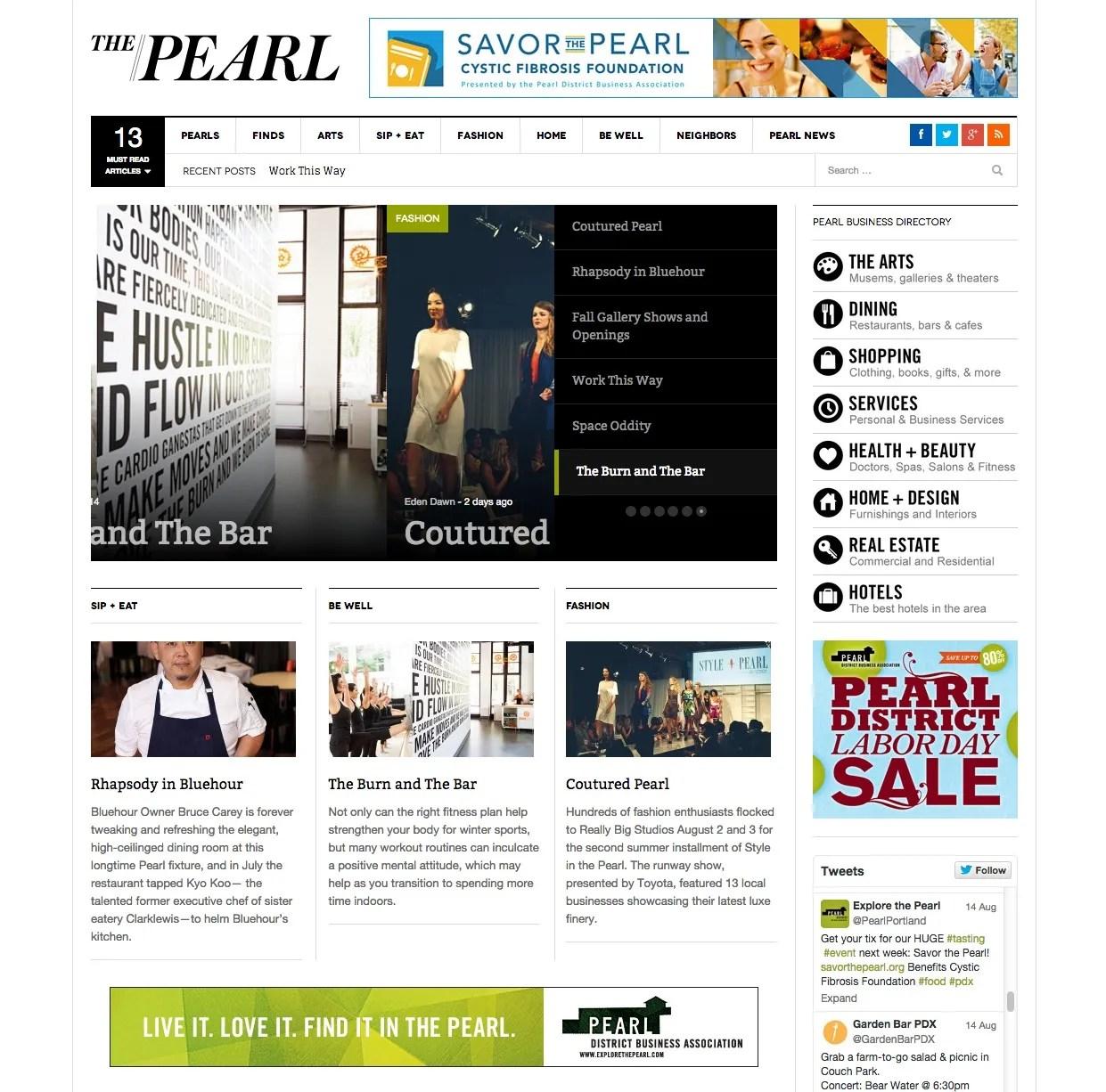 The Pearl Magazine - Portland OR