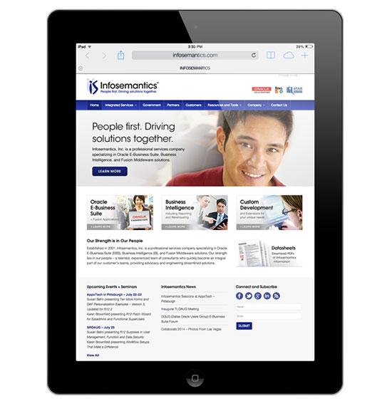 Infosemantics WordPress Website - Business Intelligence - Database