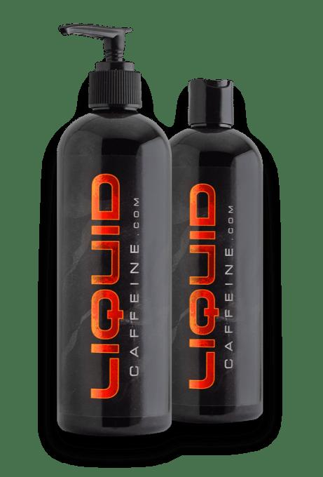 caffeinated water - liquid caffeine