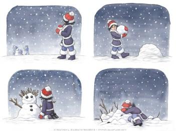 Sad Snow