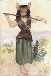 The Shepherdess Deer