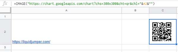 URLからQRコードが生成されました