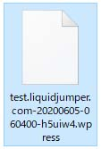 .wpressファイルをダウンロード
