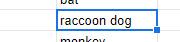"""""""raccoon dog"""""""