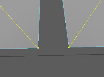 angle を使って2つのベクトル間の角度を取得