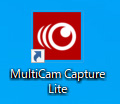 「MultiCam Capture Lite」を起動