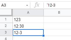 先頭に「'」を追加して数字を日付や時刻に変換しない