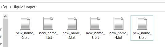 Pythonのos.listdir()を使ってディレクトリ内のファイル名を一括変更する