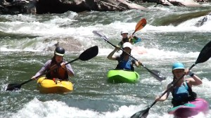 Whitewater Kayaking Russell Fork River KY