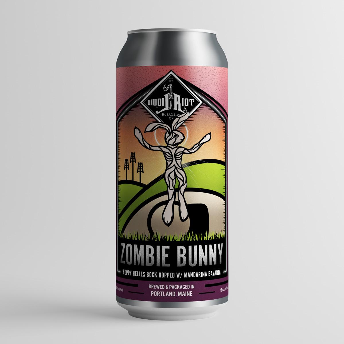 Liquid Riot Zombie Bunny
