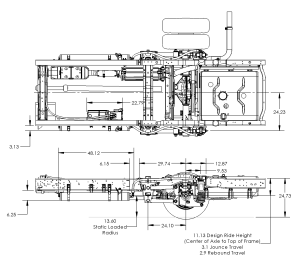 Ford E450 Suspension System for Buses