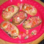 Tomato-and-Basil-Topped Bruschetta: Complete