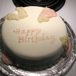 Red Velvet Cake with Buttercream and Fondant: Decorated
