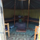 הגר, אוהל נוודים, תמונה מבפנים
