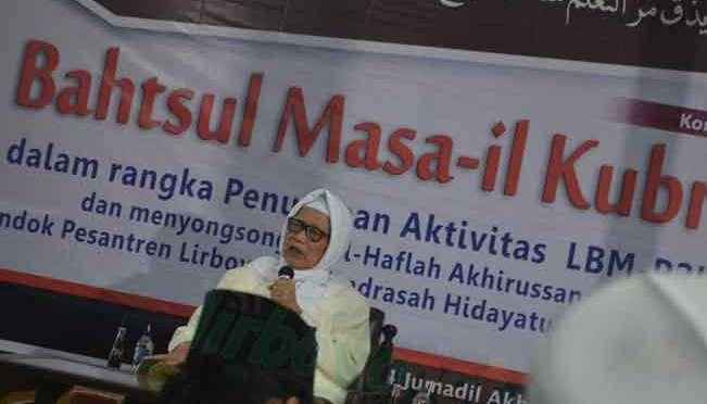 Pembukaan Bahtsul Masail Kubro dan BM Himasal