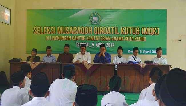 Lirboyo Mengirim Delegasi di MQK Kota Kediri
