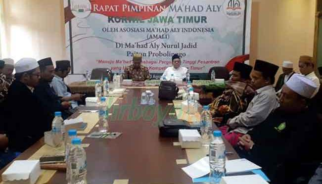 Pertemuan Ma'had Aly se- Jawa Timur